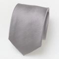 Zijden stropdas - grijs