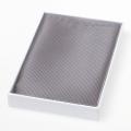 Zijden pochet - grijs